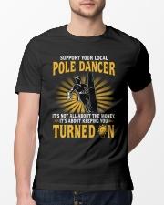 Pole Dancer Classic T-Shirt lifestyle-mens-crewneck-front-13