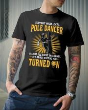 Pole Dancer Classic T-Shirt lifestyle-mens-crewneck-front-6