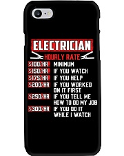 Electrician Hourly Rate Phone Case thumbnail