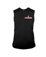 Electrician Hourly Rate Sleeveless Tee thumbnail