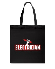 Electrician Hourly Rate Tote Bag thumbnail