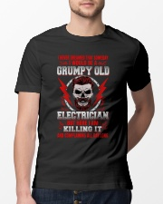 Grumpy Old Electrician 2 Classic T-Shirt lifestyle-mens-crewneck-front-13