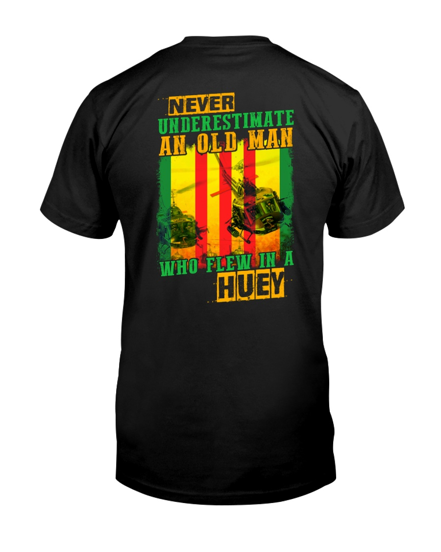 Old Man In Huey Classic T-Shirt