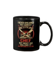 Grumpy Old Chef Mug tile