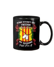 My Husband Paid For Freedom Mug thumbnail