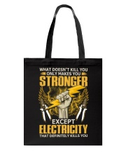 Electricity Tote Bag thumbnail