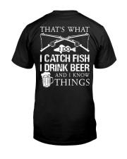 What I Do Classic T-Shirt back