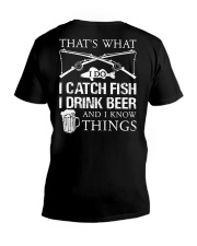 What I Do V-Neck T-Shirt thumbnail