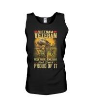 Vietnam Vet Proud Of It Unisex Tank thumbnail