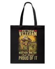 Vietnam Vet Proud Of It Tote Bag thumbnail