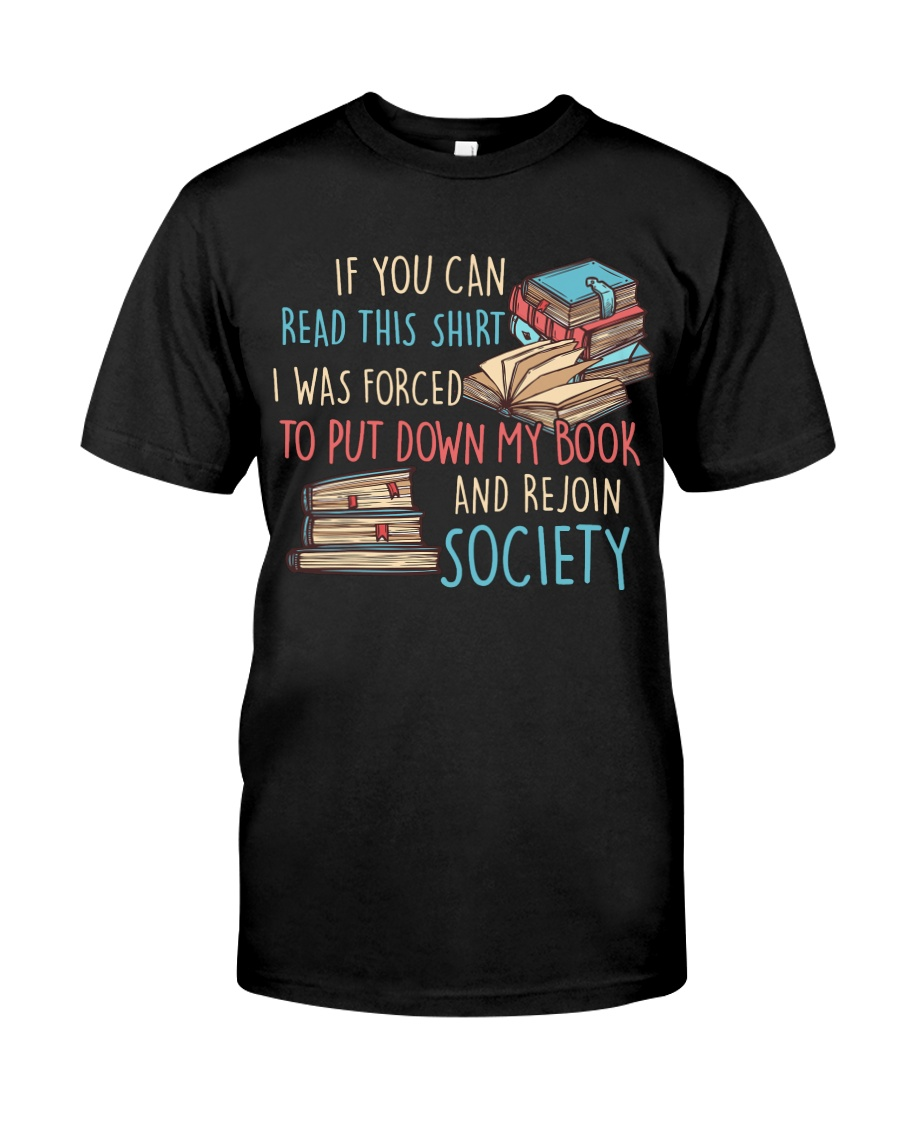 Rejoin Society Classic T-Shirt