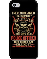 Grumpy Old Police Officer Phone Case thumbnail