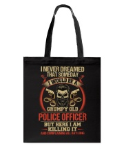 Grumpy Old Police Officer Tote Bag thumbnail