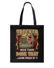 Proud Trucker Tote Bag thumbnail