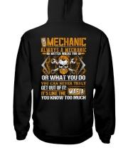 Mafia Mechanic Hooded Sweatshirt thumbnail