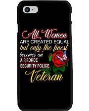 Finest Wife Security Police Veteran Phone Case thumbnail