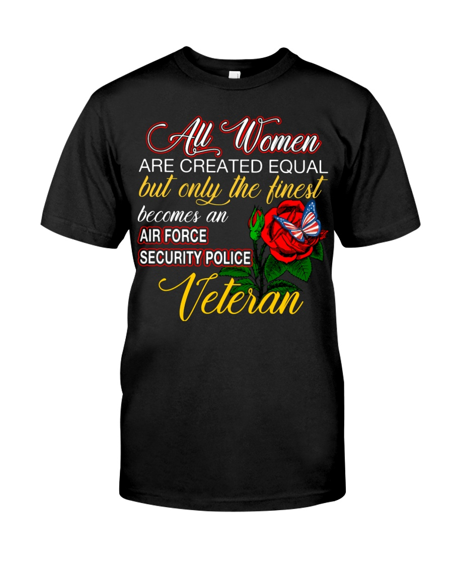 Finest Wife Security Police Veteran Classic T-Shirt
