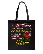 Finest Wife Security Police Veteran Tote Bag thumbnail