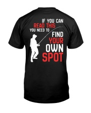 Your Own Spot Classic T-Shirt back