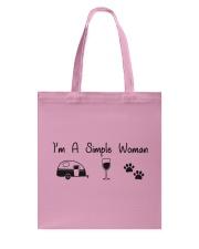 Simple Woman Tote Bag thumbnail