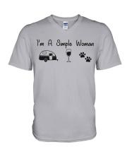Simple Woman V-Neck T-Shirt thumbnail