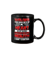 Welder Heart Mug thumbnail