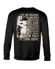 May They Return Home Crewneck Sweatshirt thumbnail