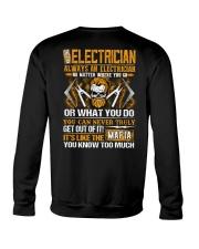 Mafia Electrician Crewneck Sweatshirt thumbnail