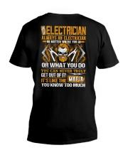 Mafia Electrician V-Neck T-Shirt thumbnail