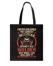 Grumpy Old Welder Tote Bag thumbnail