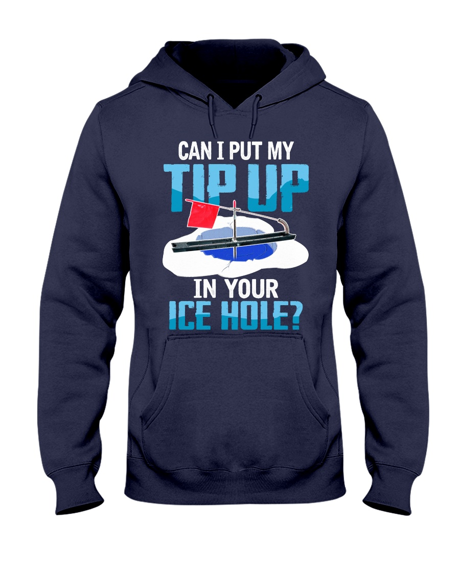 My Tip Up Hooded Sweatshirt