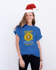 Just Security Police Vet Daughter Classic T-Shirt lifestyle-holiday-crewneck-front-1