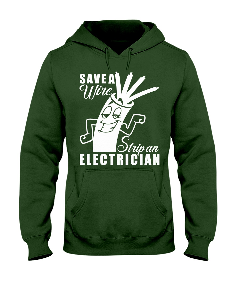 Save A Wire Hooded Sweatshirt