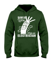Save A Wire Hooded Sweatshirt front