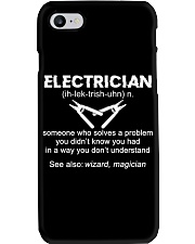 Electrician Definition Phone Case thumbnail