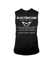 Electrician Definition Sleeveless Tee thumbnail