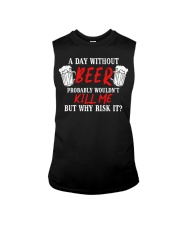 Day Without Beer Sleeveless Tee thumbnail