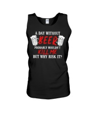 Day Without Beer Unisex Tank thumbnail