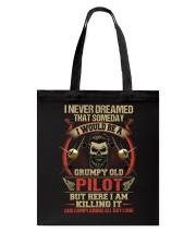Grumpy Old Pilot Tote Bag thumbnail