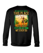 Get Outta Crewneck Sweatshirt thumbnail