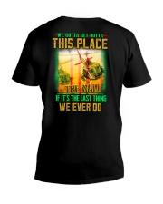 Get Outta V-Neck T-Shirt thumbnail