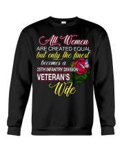 Finest Wife 25th Infantry Crewneck Sweatshirt thumbnail