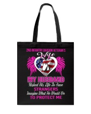 Protect Wife 2nd Infantry Tote Bag thumbnail