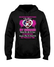 Protect Wife 2nd Infantry Hooded Sweatshirt thumbnail