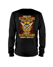 Skilled Electrician Long Sleeve Tee thumbnail