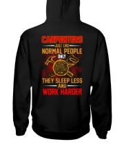 Carpenters Work Harder Hooded Sweatshirt thumbnail