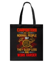 Carpenters Work Harder Tote Bag thumbnail