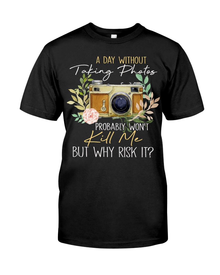 Why Risk It Classic T-Shirt