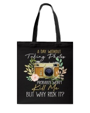 Why Risk It Tote Bag thumbnail