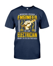 Electrician Ready Classic T-Shirt front